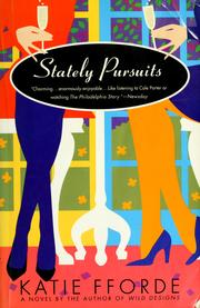 Cover of: Stately pursuits