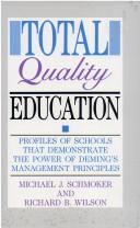 Cover of: Total quality education