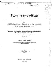 Cover of: Codex Fejérváry-Mayer
