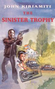 Cover of: The sinister trophy