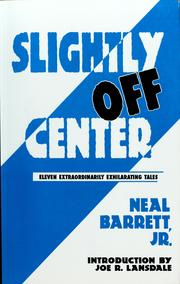 Cover of: Slightly off center