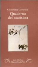 Cover of: Quaderno del musicista