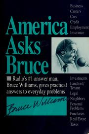 Cover of: America asks Bruce