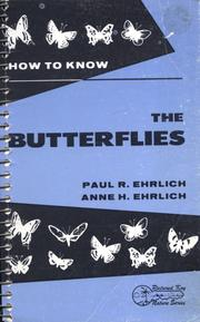 Cover of: How to Know the Butterflies