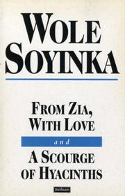 Cover of: From Zia, with love ; and, A scourge of hyacinths