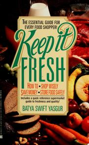 Cover of: Keep it fresh