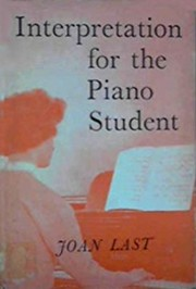 Cover of: Interpretation in piano study