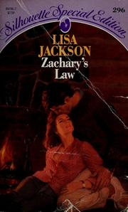Cover of: Zachary'S Law