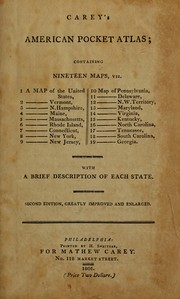 Cover of: American pocket atlas