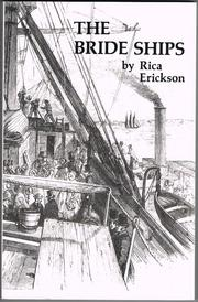 Cover of: The bride ships