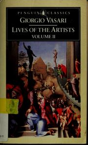 Cover of: The lives of the artists