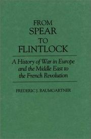 Cover of: From spear to flintlock