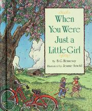 Cover of: When you were just a little girl