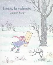 Cover of: Irene, la valiente