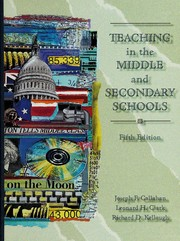 Cover of: Teaching in the middle and secondary schools
