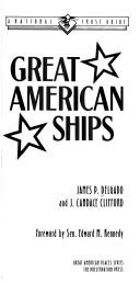 Cover of: Great American ships