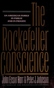Cover of: The Rockefeller conscience