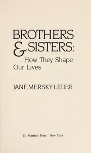Cover of: Brothers & sisters