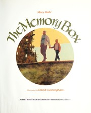 Cover of: The memory box