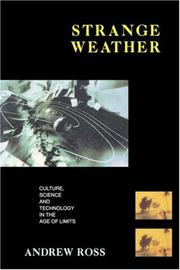Cover of: Strange weather