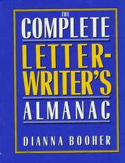 Cover of: The complete letterwriter's almanac