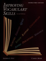 Cover of: Improving vocabulary skills