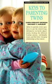 Cover of: Keys to parenting twins