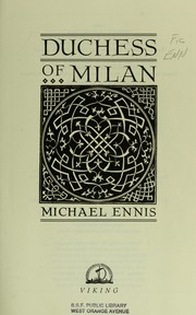 Cover of: Duchess of Milan