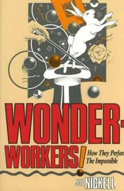 Cover of: Wonder-workers!