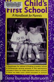 Cover of: Your child's first school