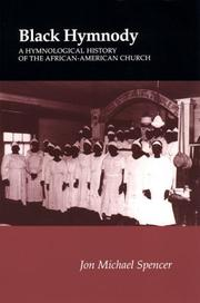 Cover of: Black hymnody