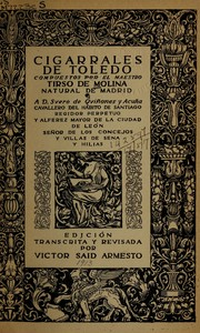 Cover of: Cigarrales de Toledo