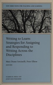 Cover of: Writing to learn