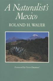 Cover of: Naturalist's Mexico
