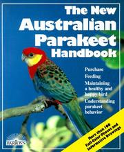 Cover of: The new Australian parakeet handbook