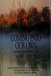 Cover of: Coming into our own