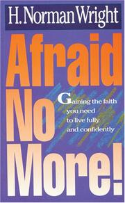Cover of: Afraid no more!