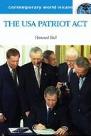 Cover of: The USA Patriot Act of 2001