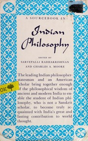Cover of: A source book in Indian philosophy
