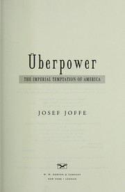 Cover of: Überpower
