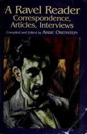 Cover of: A Ravel reader