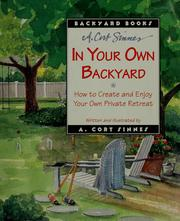 Cover of: In your own backyard
