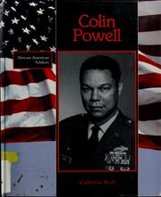 Cover of: Colin Powell: African-American Soldiers