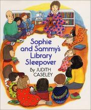 Cover of: Sophie and Sammy's library sleepover