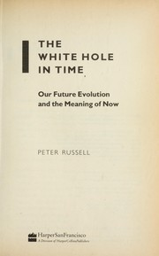 Cover of: The white hole in time