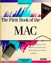 Cover of: The first book of the MAC