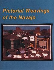 Cover of: Pictorial weavings of the Navajo