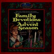 Cover of: Family devotions for the Advent season
