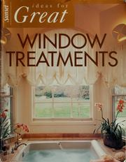 Cover of: Ideas for great window treatments