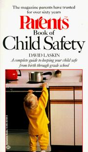 Cover of: Parents book of child safety